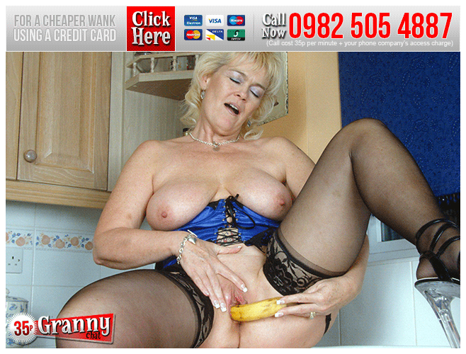 Granny Food Play Phone Sex Chat Online 35p Granny Chat UK