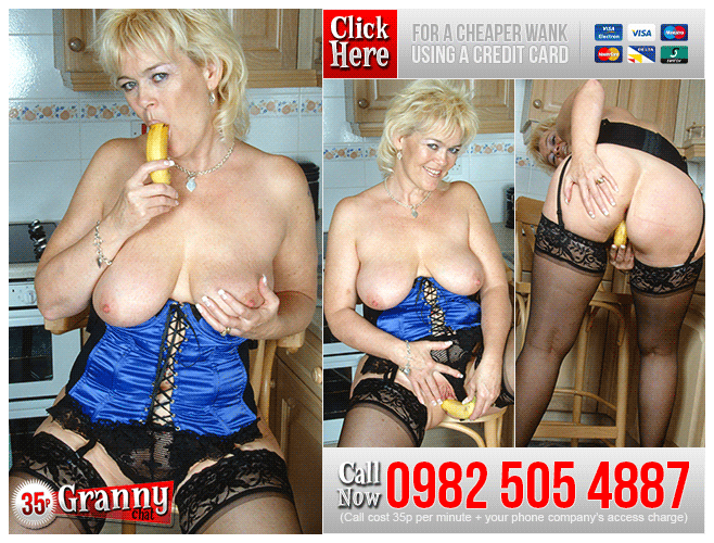 Granny Food Play Phone Sex 35p Granny Chat UK Live